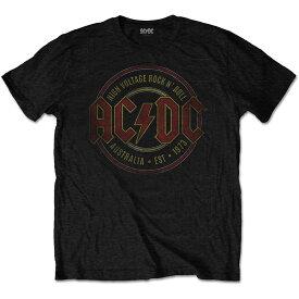 AC/DC エーシーディーシー (Angus Young生誕65周年 ) - Est. 1973 / Tシャツ / メンズ 【公式 / オフィシャル】