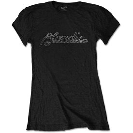 BLONDIE ブロンディー - Logo / Diamante(ブランド) / Tシャツ / レディース 【公式 / オフィシャル】