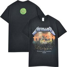 METALLICA メタリカ - Stockholm '86. / バックプリントあり / Tシャツ / メンズ 【公式 / オフィシャル】
