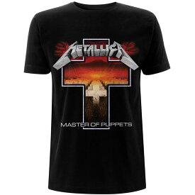 METALLICA メタリカ - Master of Puppets Cross / Tシャツ / メンズ 【公式 / オフィシャル】
