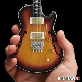 JOURNEY ジャーニー (デビュー45周年記念 ) - Neal Schon Sunburst NS-15 PRS Mini Guitar / ミニチュア楽器 【公式 / オフィシャル】