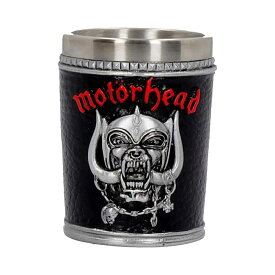 MOTORHEAD モーターヘッド - Ace of Spades Warpig / ショットグラス / 食器・グラス 【公式 / オフィシャル】