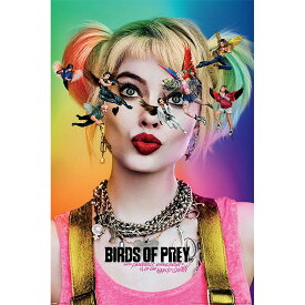 DC COMICS DCコミックス - Birds Of Prey / Harley Quinn / ポスター 【公式 / オフィシャル】
