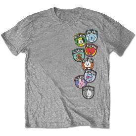 BTS ビーティーエス - BT21 / Badges / Tシャツ / メンズ 【公式 / オフィシャル】