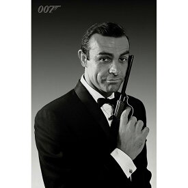 JAMES BOND ジェームズボンド (映画『NO TIME TO DIE』2021年公開 ) - Connery Tuxedo / ポスター 【公式 / オフィシャル】