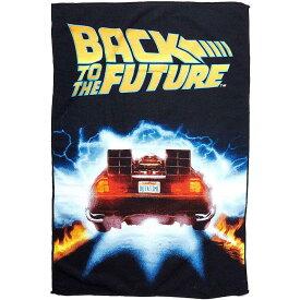 BACK TO THE FUTURE バックトゥザフューチャー (公開35周年 ) - Delorean Time Machine Microfiber Towel / タオル 【公式 / オフィシャル】