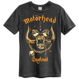MOTORHEAD モーターヘッド - BRONZE ENGLAND / Amplified( ブランド ) / Tシャツ / メンズ 【公式 / オフィシャル】
