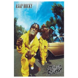 ASAP ROCKY エイサップ・ロッキー - & TYLER THE CREATOR / ポスター 【公式 / オフィシャル】
