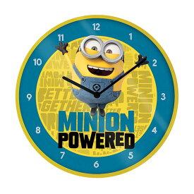 MINIONS ミニオンズ (公開5周年記念 ) - The Rise Of Gru / Minion Powered / インテリア時計 【公式 / オフィシャル】