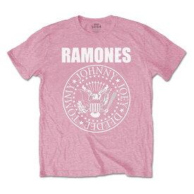RAMONES ラモーンズ (来日40周年記念 ) - Presidential Seal / Pink / Tシャツ / キッズ 【公式 / オフィシャル】