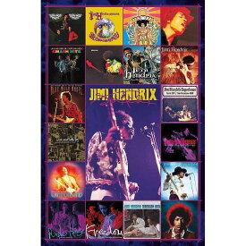 JIMI HENDRIX ジミヘンドリックス (追悼50周年 ) - Albums Covers / ポスター 【公式 / オフィシャル】