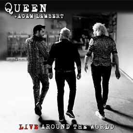 QUEEN クイーン (結成50周年記念 ) - クイーン+アダム・ランバート / ライヴ・アラウンド・ザ・ワールド / 通常盤(Blu-ray付) / SHM-CD / CD・DVD・レコード