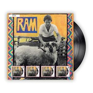 【予約商品】 PAUL MCCARTNEY ポールマッカートニー (ウイングス・デビュー50周年 ) - Fan Sheet RAM / 世界限定5000 / 切手シート / ポストカード・レター 【公式 / オフィシャル】