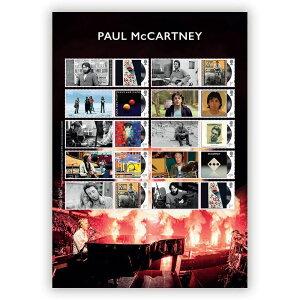 【予約商品】 PAUL MCCARTNEY ポールマッカートニー (ウイングス・デビュー50周年 ) - Collectors Sheet / 切手シート / ポストカード・レター 【公式 / オフィシャル】
