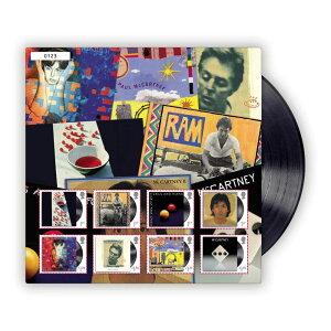 【予約商品】 PAUL MCCARTNEY ポールマッカートニー (ウイングス・デビュー50周年 ) - Fan Sheet Albums / 世界限定5000 / 切手シート / ポストカード・レター 【公式 / オフィシャル】