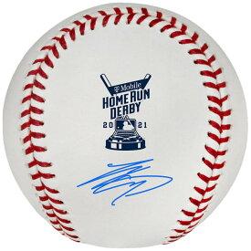 SHOHEI OHTANI 大谷翔平 - 直筆サイン入り2021 MLB Home Run Derby Logo ball / ディスプレイ・ケース付き / コレクタブル 【公式 / オフィシャル】