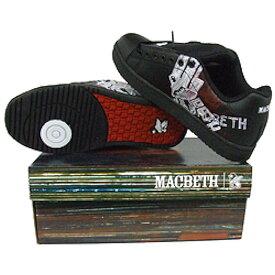 MACBETH マクベス - Regall II / blk / scracth / スニーカー 【公式 / オフィシャル】