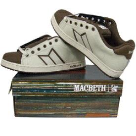 MACBETH マクベス - Regall II / wgry / choco / スニーカー 【公式 / オフィシャル】