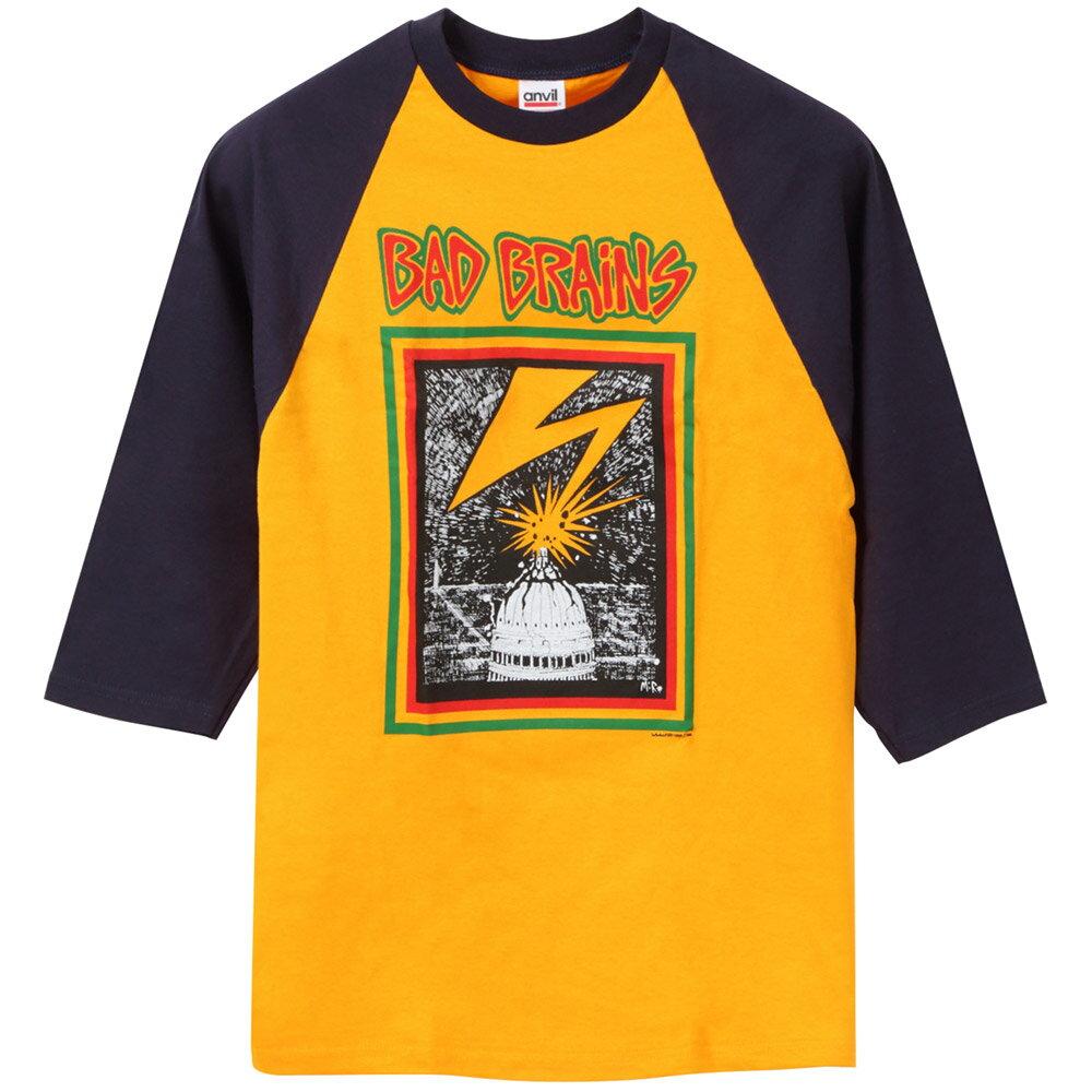BAD BRAINS バッドブレインズ - 【別注】 CAPITOL ラグラン / 長袖 / Tシャツ / メンズ 【公式 / オフィシャル】