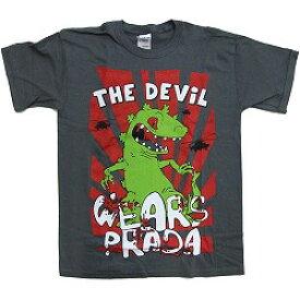 DEVIL WEARS PRADA デヴィルウェアーズプラダ Reptar Gray / Tシャツ / ボーイズ 【公式 / オフィシャル】