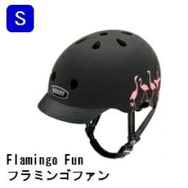 【フラミンゴファン/Flamingo Fun/nutcase/street】ナットケース/ヘルメットS
