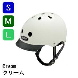 【クリーム/cream/nutcase】ナットケース/自転車ヘルメット/子供用ヘルメット/自転車/おしゃれ/人気/レインボープロダクツ≪S/M/Lサイズ≫【送料無料】