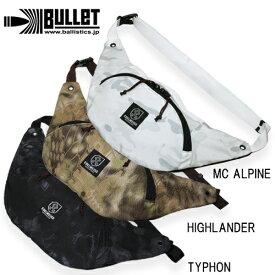 BULLET BAA-1507 ファニーパック【バレット fanny pack ballistics バリスティックス】メンズ ミリタリー カジュアル アウトドア ウエストバッグ サコッシュ multicam alpine kryptek highlander typhon