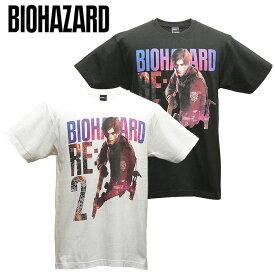 BIOHAZARD RE:2 レオン・S・ケネディ Tシャツ【バイオハザード leon】レオン クレア Resident Evil 生化危机 capcom カプコン