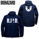 BIOHAZARD ウインドジャケット / R.P.D.【バイオハザード wind jacket】メンズ Raccoon Police Department ラクーン市…