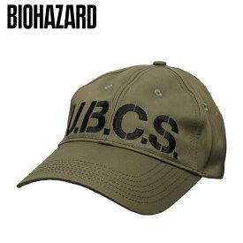 バイオハザード RE:3 U.B.C.S.キャップ【biohazard Umbrella Bio Hazard Countermeasure Service cap】メンズ カルロス Resident Evil 生化危机 capcom カプコン