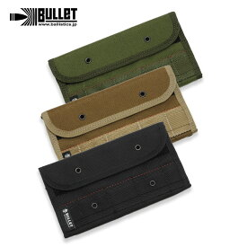BULLET BMA-1011 ミリタリー ロングウォレット【バレット ballistics バリスティックス military long wallet】メンズ カジュアル アウトドア 長財布 札入れ