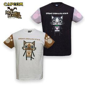 MH Tシャツ for PATCH / アイルー【モンスターハンター Monster Hunter カプコン capcom】メンズ ミリタリー カジュアル アウトドア ゲーム パッチパネル