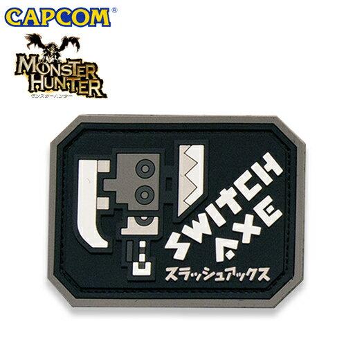 MH ラバーワッペン / スラッシュアックス 【モンスターハンター Monster Hunter カプコン capcom】メンズ ミリタリー カジュアル アウトドア ゲーム パッチパネル