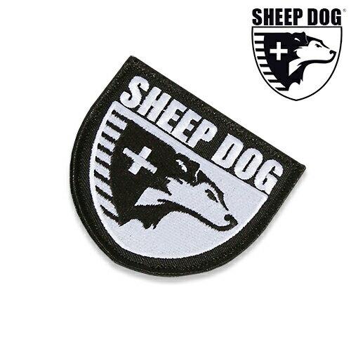 SDIA クレスト パッチ sheep Dog Impact Assistance エスディーアイエー タクティカル】メンズ ミリタリー カジュアル アウトドア ボランティア 救助 支援 ベルクロ ワッペン
