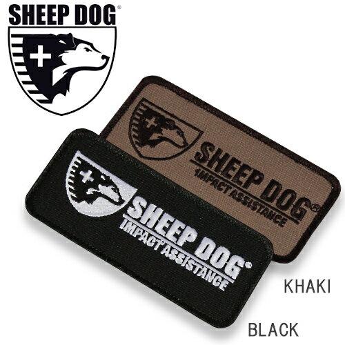 SDIA ホリゾンタル パッチ 【sheep Dog Impact Assistance エスディーアイエー タクティカル】メンズ ミリタリー カジュアル アウトドア ボランティア 救助 支援 ベルクロ ワッペン