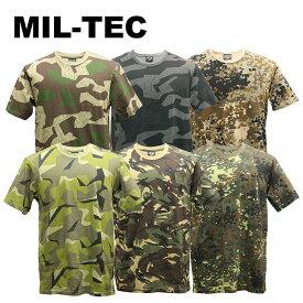 MIL-TEC カモフラージュ Tシャツ【ミルテック camouflage T-shirts】メンズ ミリタリー カジュアル 迷彩