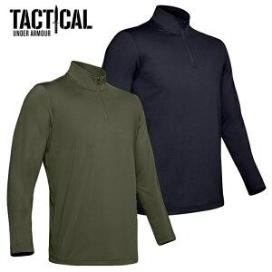 Under Armour Tactical ライトウェイト 1/4 ジップシャツ【アンダーアーマー タクティカル Allpurpose 1/2 Zip Shirts】ミリタリー カジュアル メンズ シャツ 日本未発売