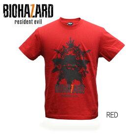 バイオハザード biohazard 7 Tシャツ resident evil レジデントイービル メンズ レディース ミリタリー カプコン CAPCOM ショートスリーブ 半袖 ゲーム 2カラー 国内正規