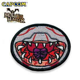Monster Hunter PATCH / FACE KHEZU モンスターハンター フェイス フルフル 刺繍 パッチ カプコン capcom メンズ ミリタリー カジュアル アウトドア ゲーム パッチパネル ワッペン 国内正規