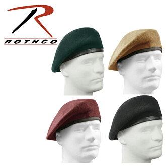Roscoe ROTHCO military beret MILITARY BERET replica GI type wool felt hat サバイバルゲームサバゲメンズレディース 4 color