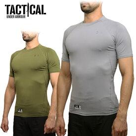 UA TACTICAL MTC2981 タクティカル ヒートギア タイトフィット Tシャツ 【アンダーアーマータクティカル Tactical Heatgear Tight-Fit Tee】日本未発売 特殊部隊 軍用 吸汗速乾 ヒートギア OUTLET