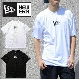 送料無料 半袖 ラッシュTシャツ SS TEE ニューエラ NEW ERA メンズ RASH TEE 吸汗速乾性 UV カット Tシャツ キャップ ミニロゴ 大きいサイズ ショートスリーブ 12674247 12674248 2021春夏新作 半袖