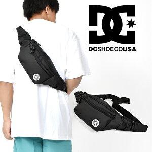 ボディバッグ DC SHOES ディーシー シューズ メンズ レディース WAISTAGE ブラック 黒 ロゴ ウエストバッグ ヒップバッグ ウエストポーチ アウトドア スケートボード ディーシーシューズ edyba03072