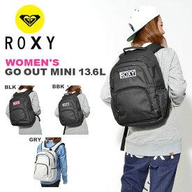 aa598dd5e8b7 バックパック ROXY ロキシー レディース GO OUT MINI 13.6L 無地 リュックサック デイパック リュック バッグ