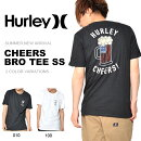 半袖TシャツHURLEYハーレーメンズCHEERSBROTEESSロゴTシャツプリントTシャツ半袖Tシャツトップスサーフ2018夏新作15%off