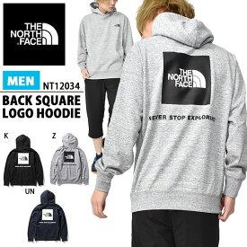 30%off 送料無料 バックロゴ スウェット パーカー ザ・ノースフェイス THE NORTH FACE Back Square Logo Hoodie バックスクエアロゴ フーディー メンズ プルオーバーパーカー 2020春夏新作 nt12034 ザ ノースフェイス
