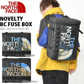 ザ・ノースフェイス THE NORTH FACE ベースキャンプ ノベルティー ヒューズボックス Novelty BC FUSE BOX 30L nm81939 ヨセミテ ジョシュアツリー ザック バックパック かばん スクエア型 メンズ レディース バッグ BAG