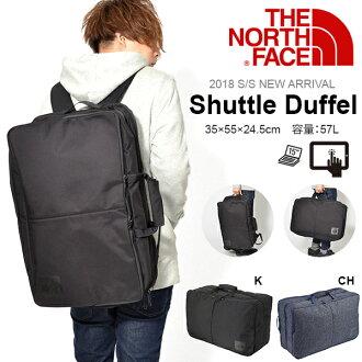 2WAY这个nosufeisushatorudaffuru THE NORTH FACE商务包SHUTTLE DUFFEL 57L帆布背包挎包NM81600背包通勤