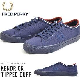 スニーカー フレッドペリー FRED PERRY メンズ KENDRICK TIPPED CUFF CANVAS キャンバス シューズ 靴 ローカットスニーカー カジュアルシューズ B4208