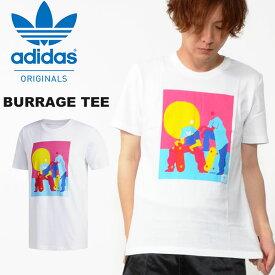 30%OFF 半袖 Tシャツ adidas ORIGINALS アディダス オリジナルス メンズ BURRAGE TEE プリントTシャツ FUE22